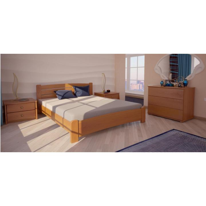522, Кровать Сидней, , 4 440.00 грн, Кровать Сидней, ХМФ, Кровати деревянные