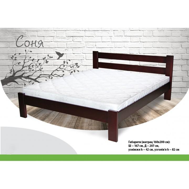 374, Кровать Соня, , 4 200.00 грн, Кровать Соня, ТМ Лев, Кровати деревянные