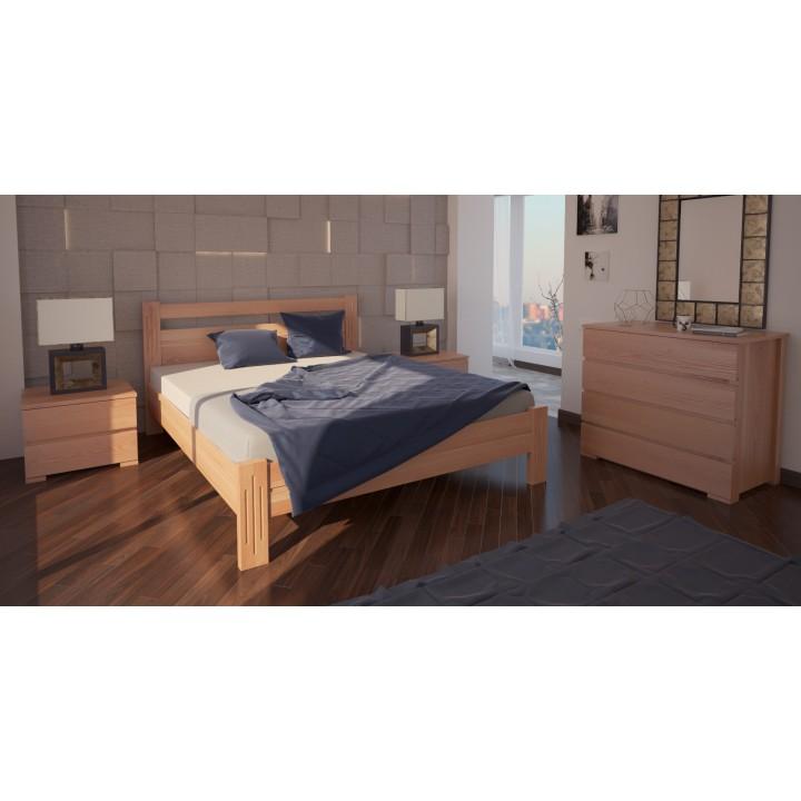 526, Кровать Вена, , 4 502.00 грн, Кровать Вена, ХМФ, Кровати деревянные