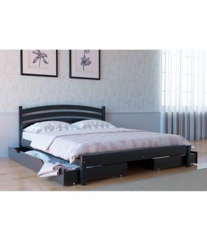Кровать деревянная Л-211