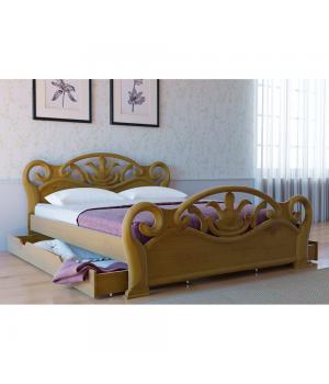 Кровать деревянная Л-222
