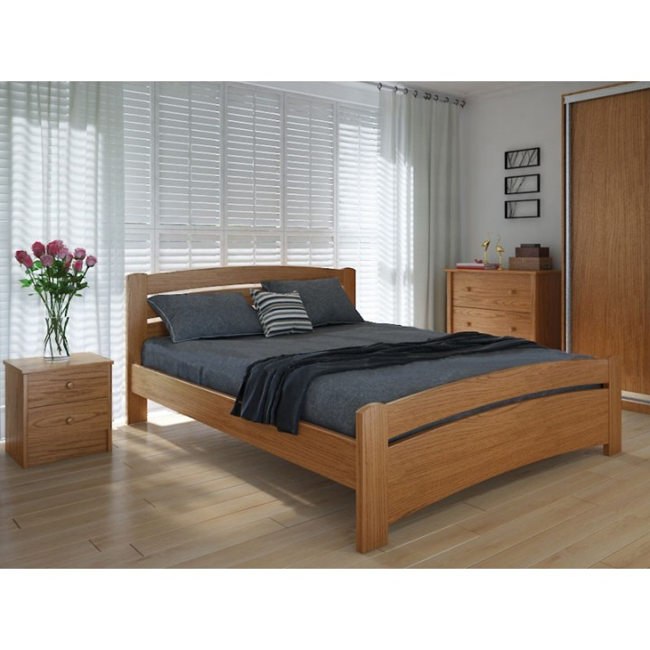 575, Кровать Грин, , 5 474.00 грн, Кровать Грин, Meblikoff, Кровати деревянные