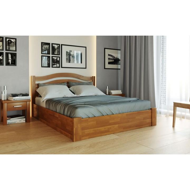 387, Кровать Афина Новая, , 8 630.00 грн, Кровать Афина Новая, ТМ Лев, Кровати деревянные
