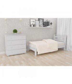 Кровать деревянная Л-123