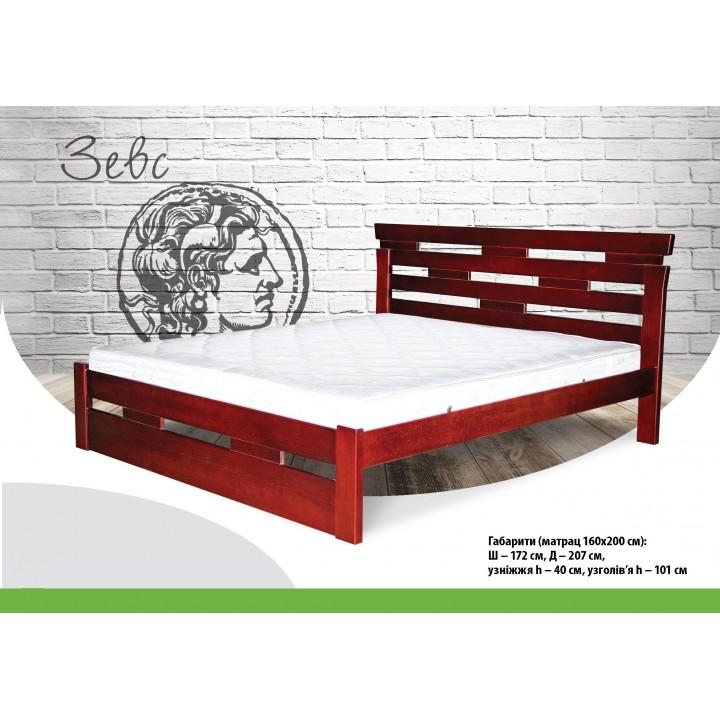388, Кровать Зевс, , 9 260.00 грн, Кровать Зевс, ТМ Лев, Кровати деревянные