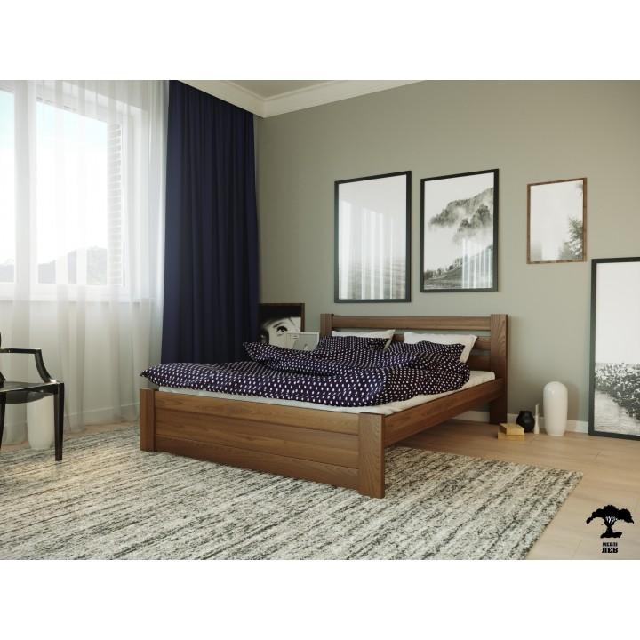 378, Кровать Жасмин, , 4 860.00 грн, Кровать Жасмин, ТМ Лев, Кровати деревянные